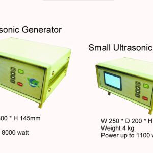 MFG 1 Multi Frequency ultrasonic Generator, Front/side, smart art