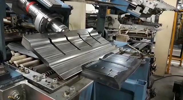 Ultrasonic rubber cutting machine