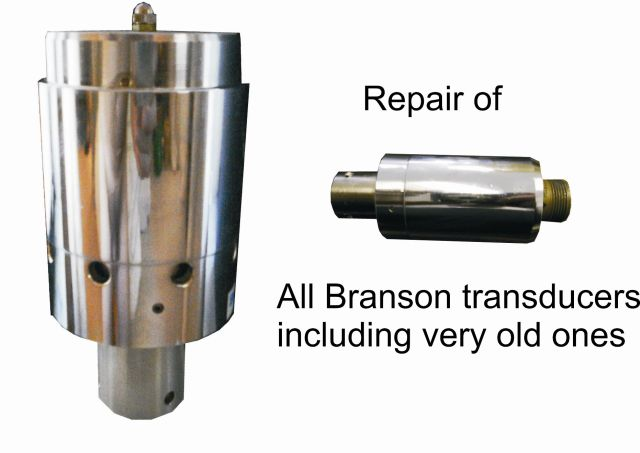 Branson Ultrasonic power converters – transducers