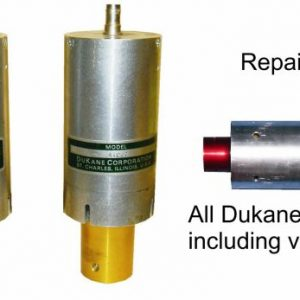 Dukane Ultrasonic converters – Transducers – New – upgrade or repair