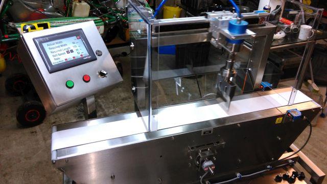 Ultrasonic Food cutting machine, 25 kHz