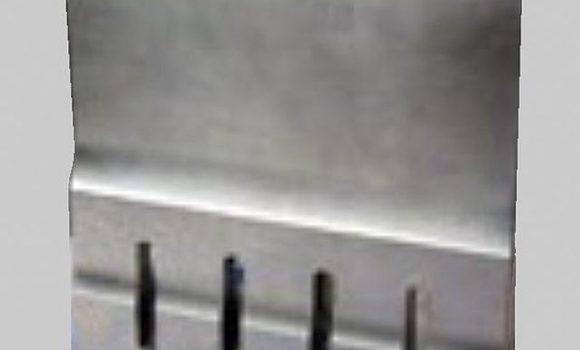 Ultrasonic food cutting blade 280mm wide full wave, 20 kHz