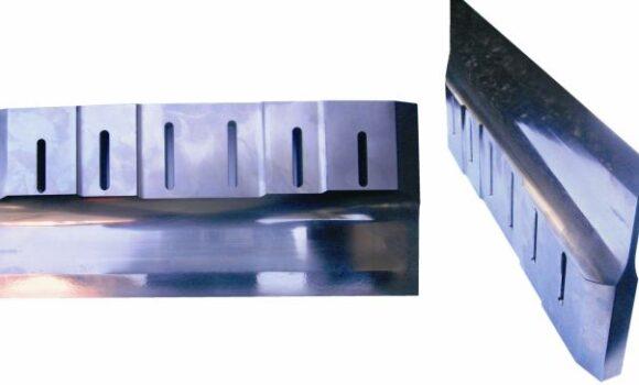 Ultrasonic food cutting blade 400 mm wide