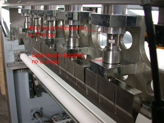 Ultrasonic Food cutting machine 25 kHz
