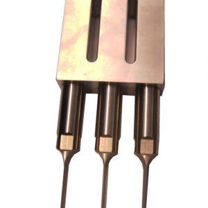 Ultrasonic Knife horn with 3 knifes 25 kHz