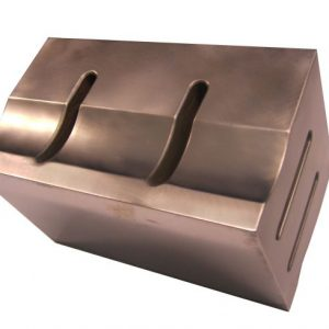 Ultrasonic sonotrode Titanium block 240 x 180mm