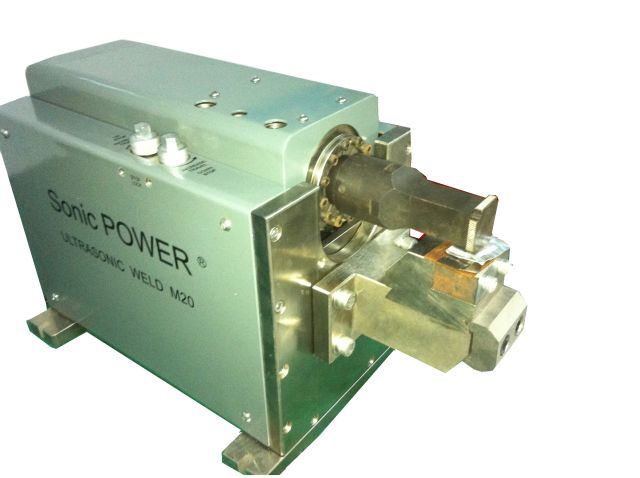 Ultrasonic Metal spot welder from 15 kHz to 60 kHz